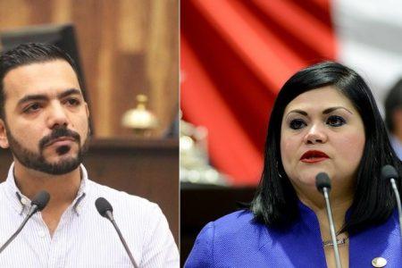 Kathia Bolio y Elías Lixa 'aseguran' diputaciones plurinominales