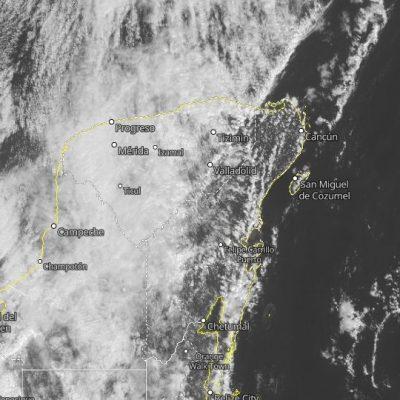Pronostican un poco más lluvia en Yucatán por el paso del frente frío 36
