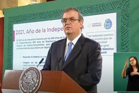 Gobierno de México anuncia 15 eventos emblemáticos en 2021: Año de la Independencia