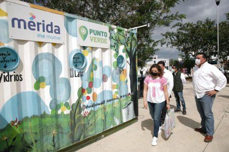 Renán Barrera inaugura un parque y supervisa el nuevo Mega Punto Verde en Los Héroes