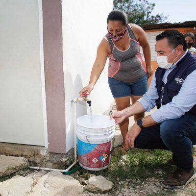 Avanza Renán Barrera en su compromiso de rezago cero en Mérida