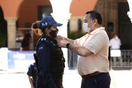 El alcalde Renán Barrera dota de herramientas tecnológicas a la Policía Municipal