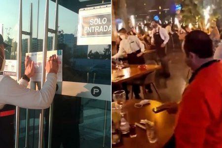 Clausuran restaurante Porfirio's por no cumplir las disposiciones sanitarias