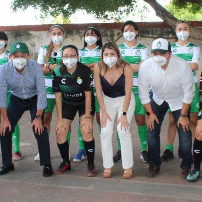 El Santos Laguna también presenta su academia en Mérida