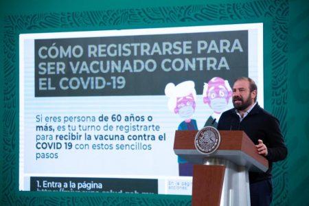 Abren registro de adultos mayores para vacunación contra Covid-19