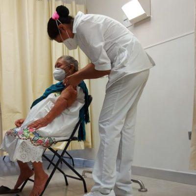 Arranca la vacunación de adultos mayores en Yucatán: los primeros en Valladolid