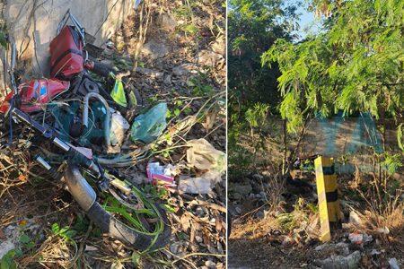 Trágico accidente de un motociclista en la avenida Mérida 2000