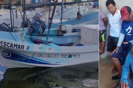 Localizan a pescadores que fueron reportados como desaparecidos en Celestún