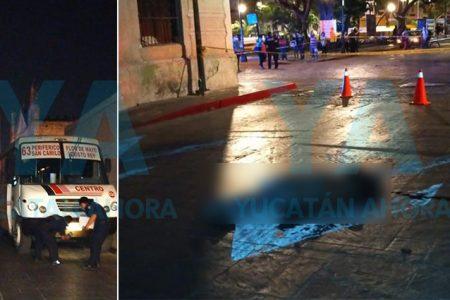 Muere atropellado un peatón en el centro de Mérida