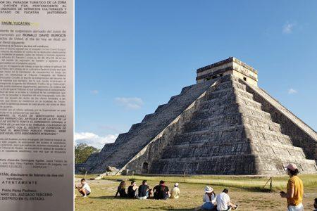 Ante el revés, solicitan revisión del amparo, guías de turistas de Chichén Itzá