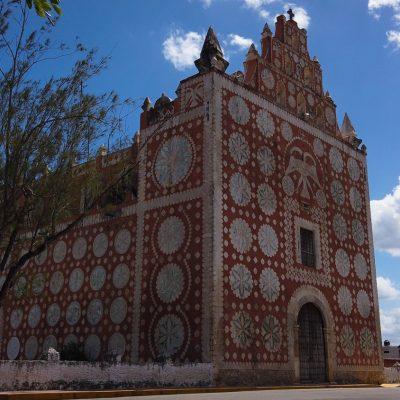 Tren Maya promueve la restauración de virreinal templo de Yucatán