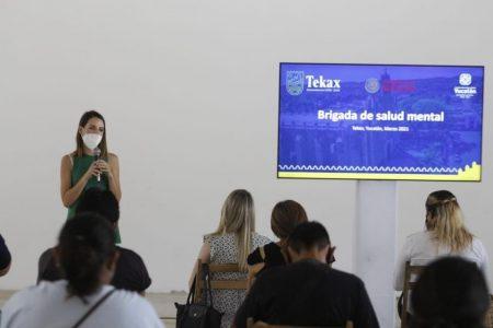 Avanza el proyecto del Centro Intercultural de Salud Mental y Adicciones de Tekax