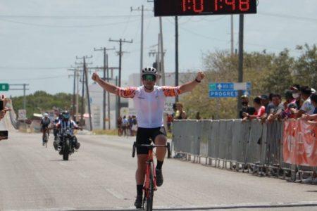 El cozumeleño Alan Carrillo se sintió en casa al comandar el MZ Tour en la costa yucateca