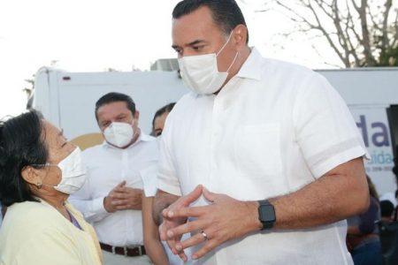 Mérida se declara lista y en espera de vacunas contra Covid-19, afirma Renán Barrera