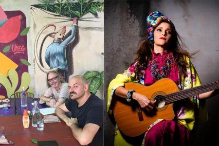 María Moctezuma prepara su cuarto disco con el productor Hernán Hecht