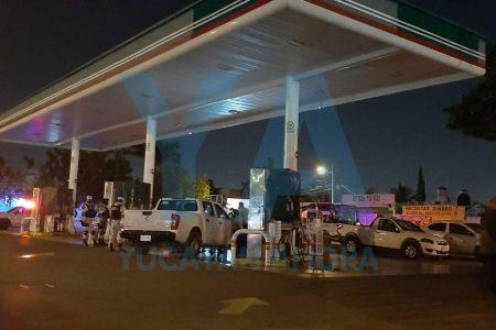 Profeco inmoviliza bombas en una gasolinera de Juan Pablo II