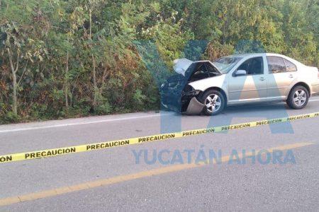 Ebrio conductor atropella dos motocicletas: un muerto y una lesionada grave