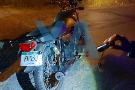 Recuperan en Juan Pablo II motocicleta robada en Francisco de Montejo