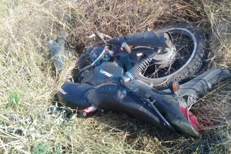 Pierde la vida un motociclista de 40 años