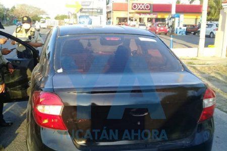 Detienen a sujeto que le robó un celular a una transeúnte en la colonia López Mateos