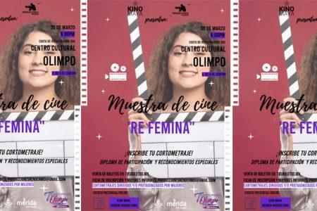 Invitan a participar en muestra de cine con cortometrajes dirigidos o protagonizados por mujeres