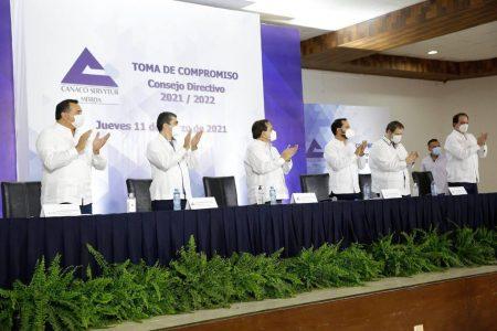 Renán Barrera destaca el compromiso del sector empresarial en el desarrollo de Mérida