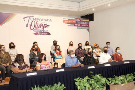 Regresa la Temporada Olimpo y el Arte Solidario