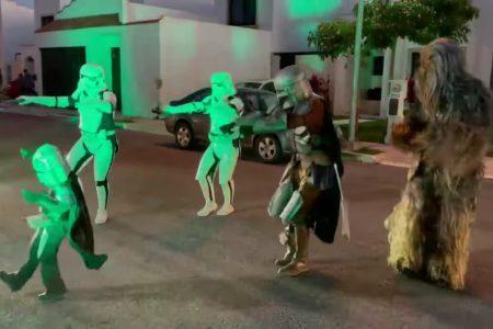 Pequeño yucateco se hace viral por su fiesta de Star Wars