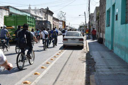 Ciclistas toman las calles de Mérida para constatar ciclovías