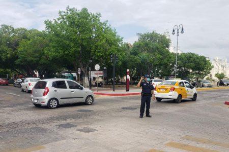 Apagón en el centro de la ciudad, Paseo de Montejo y la avenida Itzaes