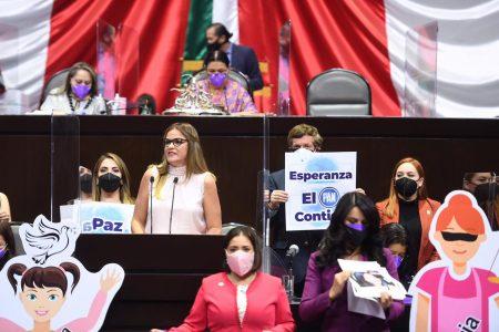 Alza la voz Cecilia Patrón por las mujeres de México