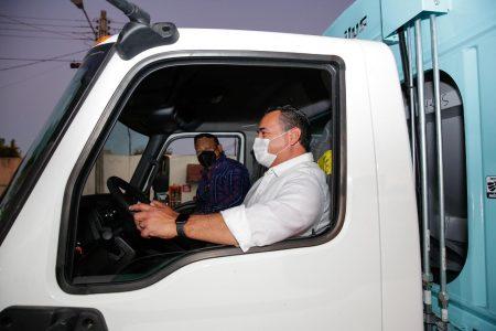 En continua mejora la recolección de basura en Mérida, afirma el alcalde Renán Barrera