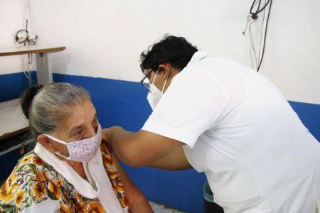 Llegan a Yucatán 11,700 vacunas para adultos mayores de Tekax, Peto, Izamal y Tinum