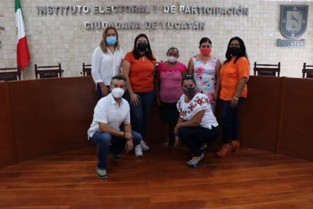 Registran candidatas de Movimiento Ciudadano en municipios yucatecos