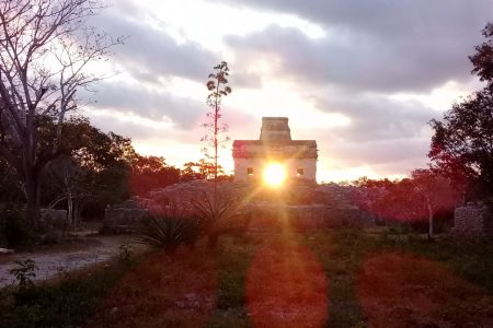 Portales energéticos se abrieron en Dzibilchaltún, durante el equinoccio