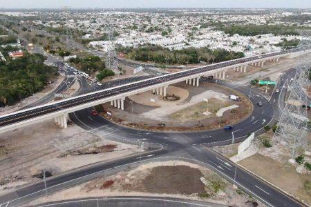 Inauguran Paso Superior Vehicular en Ciudad Caucel