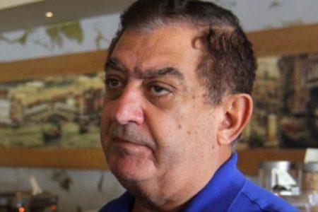 Hospitalizan por Covid-19 al empresario José Chapur Zahoul