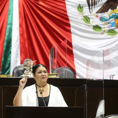 Dulce María Sauri presenta iniciativa para que las pensiones se paguen en salarios mínimos y no en UMA's