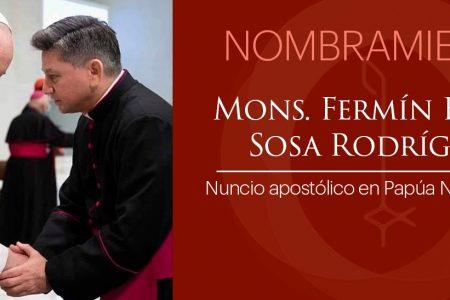 Nombran Nuncio Apostólico en Papúa Nueva Guinea al sacerdote yucateco Fermín Sosa Rodríguez