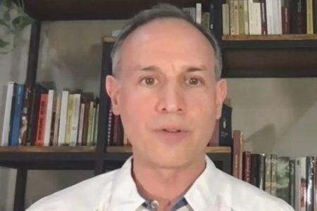 López-Gatell reaparece de manera virtual en conferencia de Covid-19