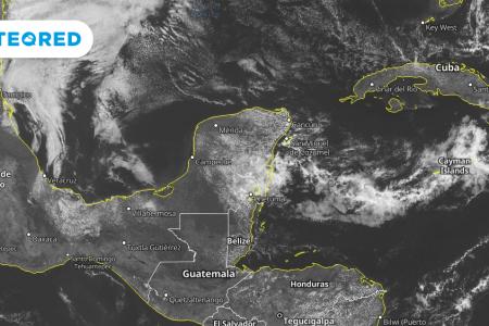 Pronostican tormentas para este fin de semana en la Península de Yucatán