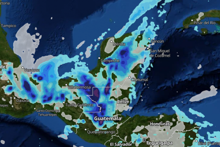 ¡Qué contraste! Semana con calor extremo y tormentas en la Península de Yucatán