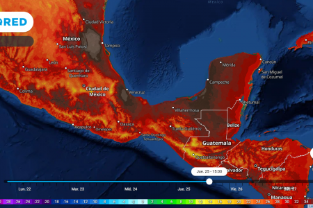 Viene nueva onda cálida en la Península de Yucatán