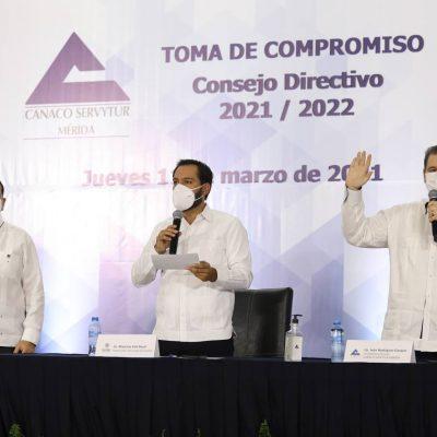 Anuncian mejoras al Plan de Mejora a la Movilidad Urbana en el Centro Histórico de Mérida
