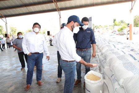 Habitantes del sur de Yucatán reciben el respaldo del Gobierno del Estado