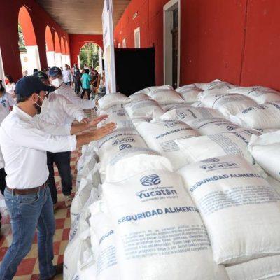 Apoyos del Gobierno del Estado siguen llegando a las familias yucatecas que más lo necesitan