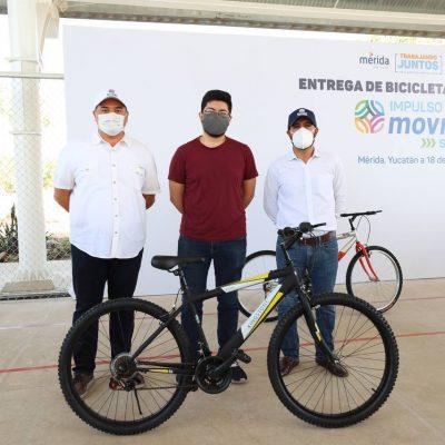 Entregan las primeras bicicletas del programa de impulso a la movilidad sustentable