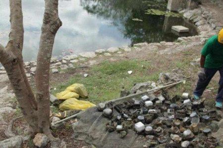 CFE denunciará robo y desecho inadecuado por medidores hallados en un cenote