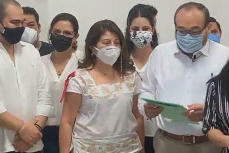 Se registra Ramírez Marín como candidato del PRI a la alcaldía de Mérida