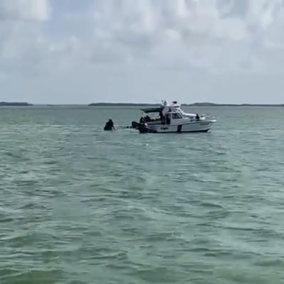Se desploma una avioneta en la laguna Nichupté, en la zona turística de Cancún